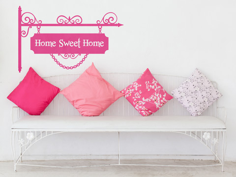 HOME SWEET HOME- Vinilo Decorativo Infantiles